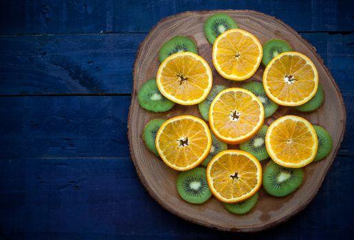Photo free table, wood, fruits