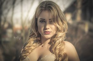 Photo free women, blonde, portrait