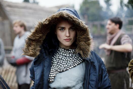 Photo free Katie Mcgrath, celebrities, a hood