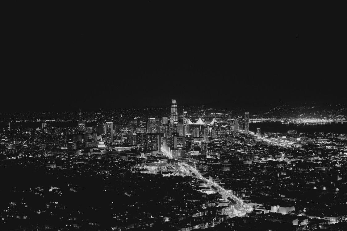 Ночной Сан-Франциско · бесплатное фото