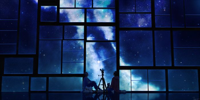 Photo free stars, night, couple