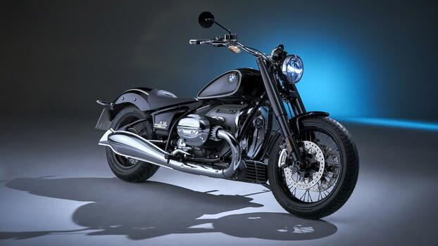 Photo free black motorcycle, motorcycle, bmw r18 first edition