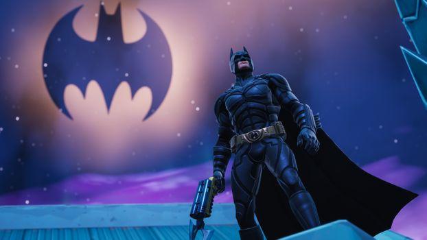 Заставки Fortnite, игра, Batman