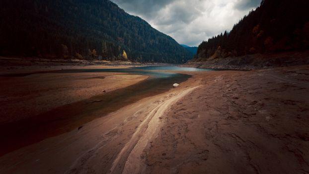 Фото бесплатно река, ущелье, песок