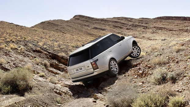 Photo free Range Rover, cars, white
