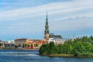Фото бесплатно города, церковь, Латвия