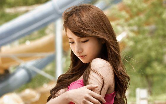 Фото бесплатно азиатка, Suzy, корейская актриса