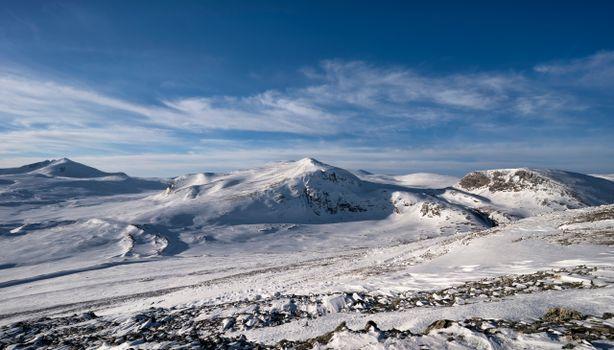 Фото бесплатно горы Норвегии, снег, снежные горы