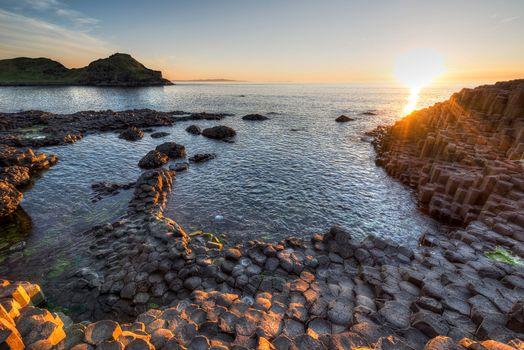 Фото бесплатно Графство Антрим, Великобритания, скалы