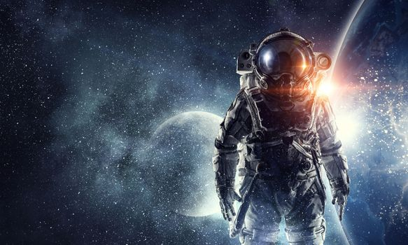 Photo free astronaut, spacesuit, star