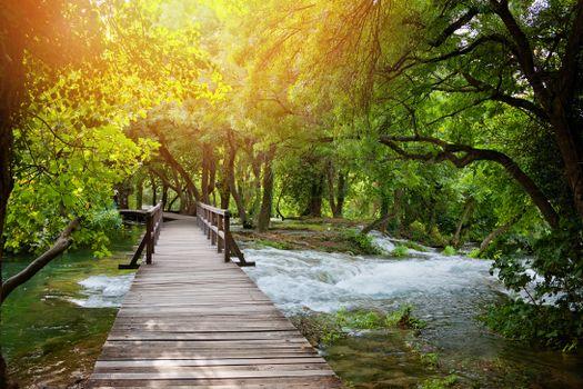 Photo free Plitvice Lakes, Croatia