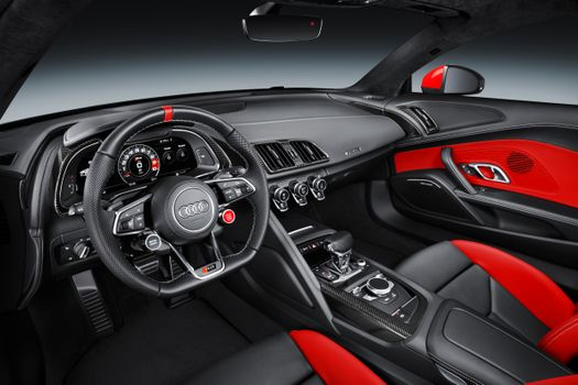 Download wallpaper audi r8 v10 coupe audi sport edition, the car