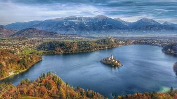 Заставки Bled,Bled Lake,Озеро Блед,Остров Блед,Словения