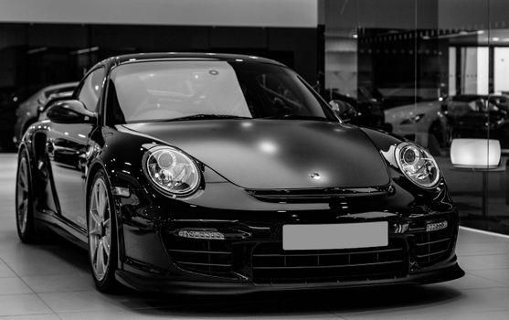 Заставки авто, черные, фары