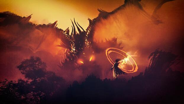 Фото бесплатно огненный, крылья, мастер