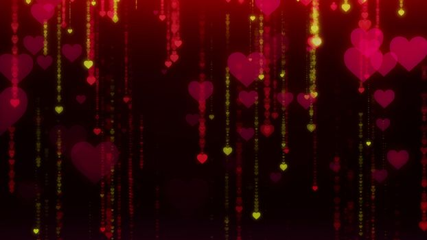Бесплатные фото сердце,блики,темный фон,heart,glare,dark background
