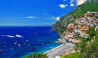Фото бесплатно море, город, пляж