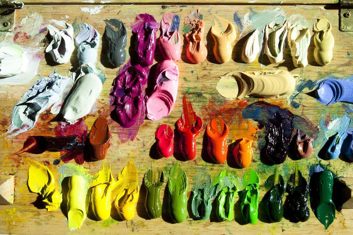 Фото цвет искусство палитры - бесплатные картинки на Fonwall