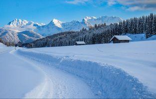 Фото бесплатно Горный хребет Карвендель, Миттенвальда, Верхняя Бавария