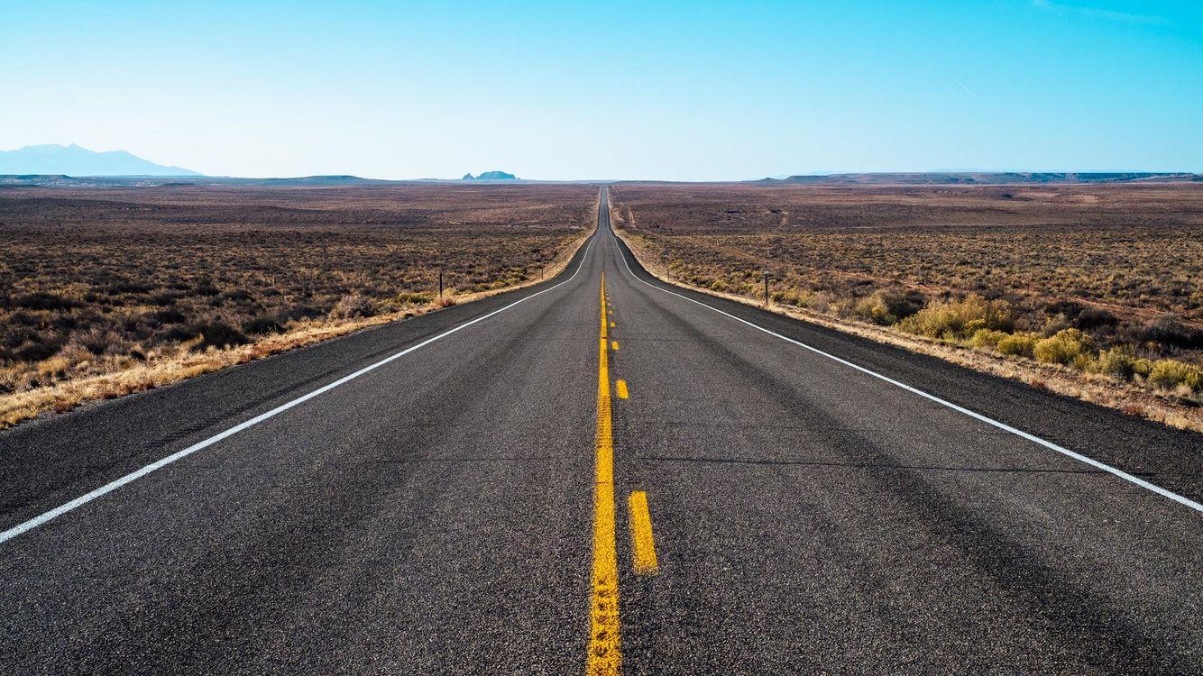 Дорога в Техасе · бесплатное фото