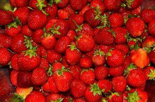 Бесплатные фото клубника,ягоды,еда
