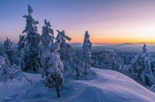 Заставки Finland, зима, снег