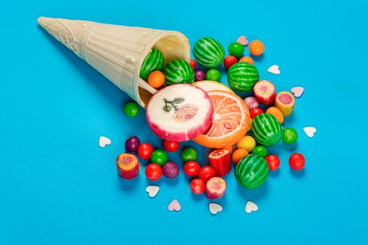 Photo free food, heart, multicolor