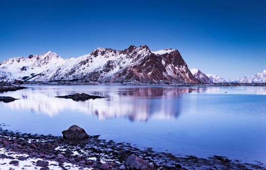 Фото бесплатно горы, Лофотенские острова, горный пейзаж