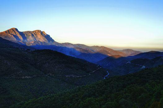 Фото бесплатно горы, простор, зелень