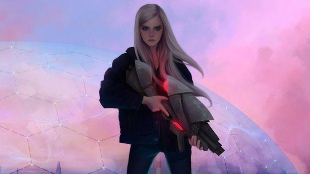 Фото бесплатно Deviantart, художественное произведение, Gun
