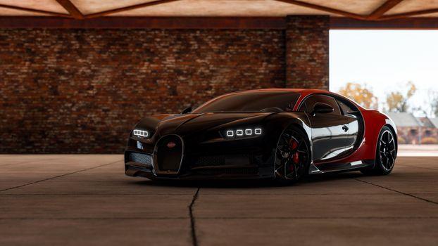 Фото бесплатно Horizon Forza 4, Bugatti, суперкар