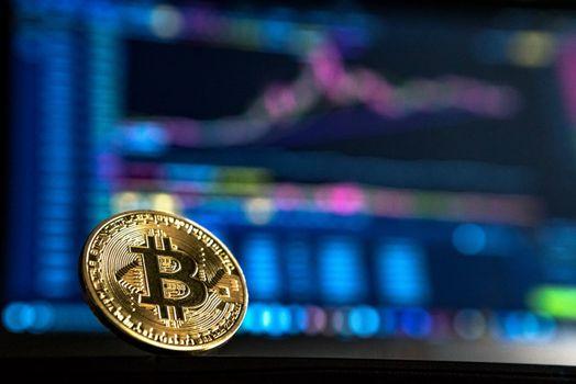 Photo free Bitcoin, coin, gold