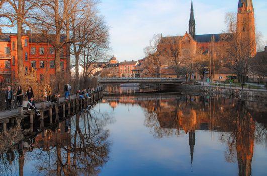 Фото бесплатно города, Швеция, мосты