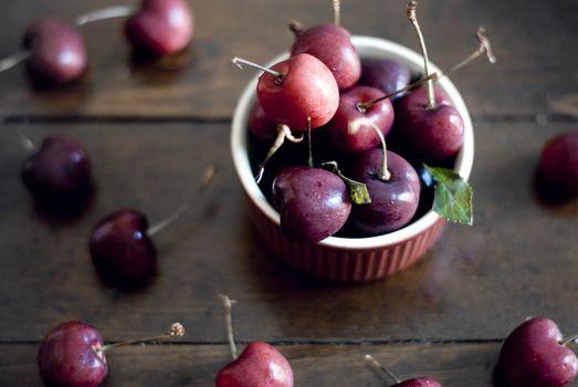 Фото бесплатно еда, деревянная поверхность, фрукты