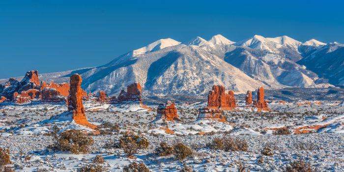 Photo free nature, USA, panoramic