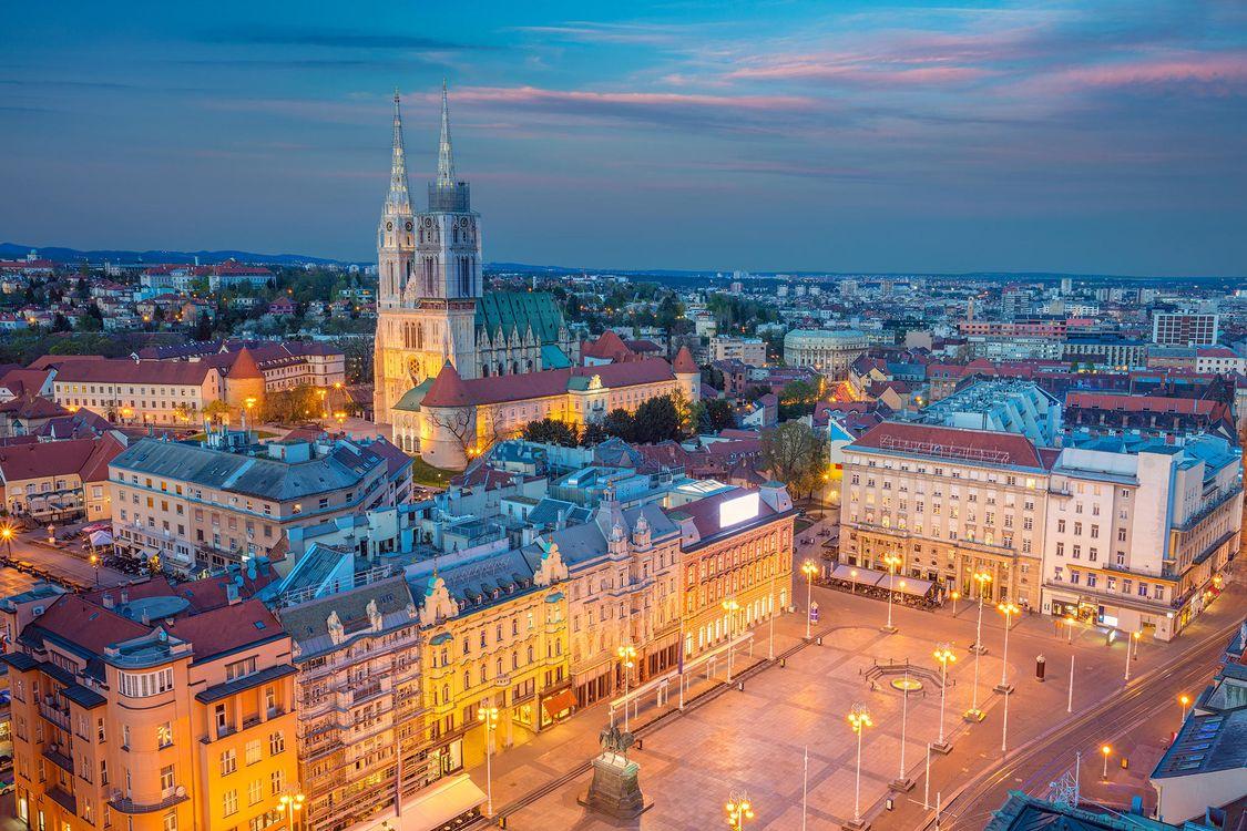 Фото бесплатно Загреб, город, Хорватия - на рабочий стол