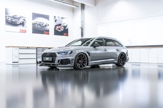 Photo free Audi Rs 4 Avant, 2018 cars, Audi