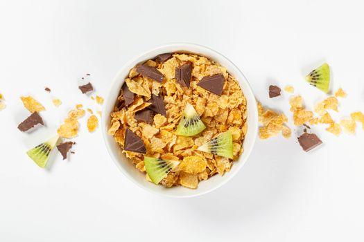 Фото бесплатно еда, шоколад, кивифрут