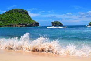 Бесплатные фото море, острова, пляж, волны