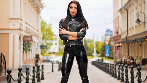 Photo free Russian, brunette, model