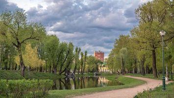 Бесплатные фото Tavricheskiy garden,Saint-Petersburg