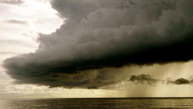 Photo free wave, cloudy, sky
