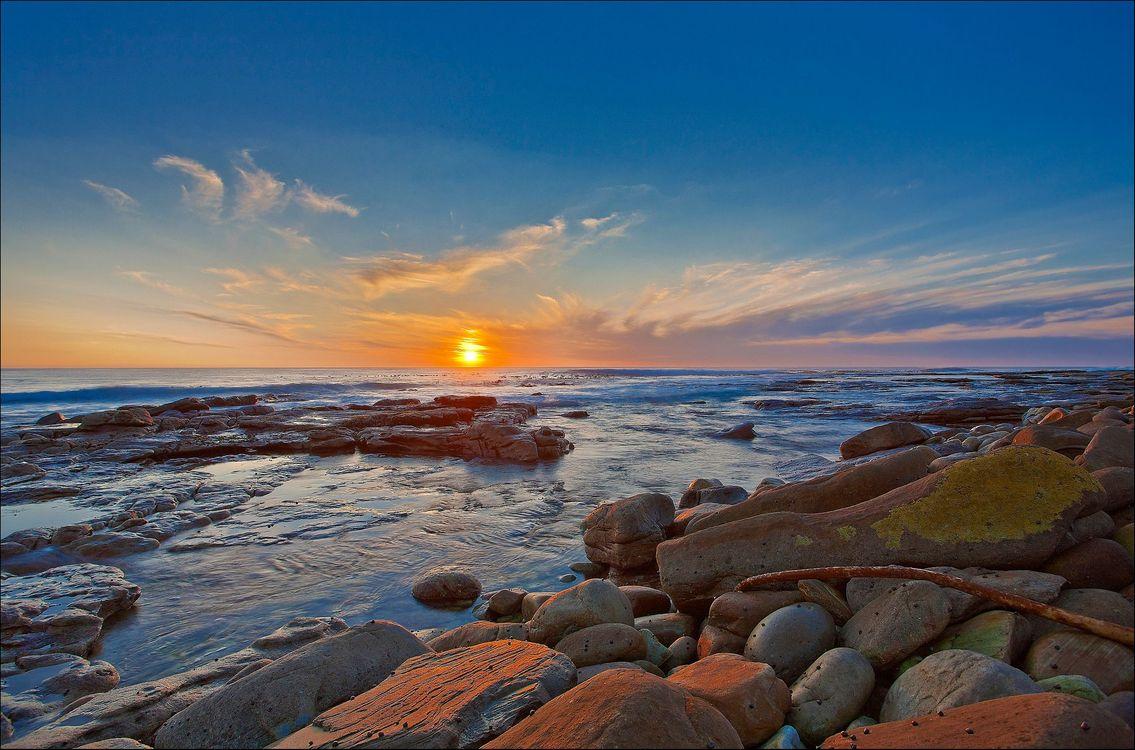 Фото бесплатно волны, камни, скалы - на рабочий стол