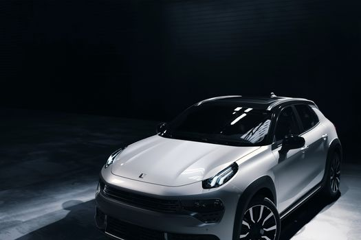 Photo free cars, black background, Lynk And Co