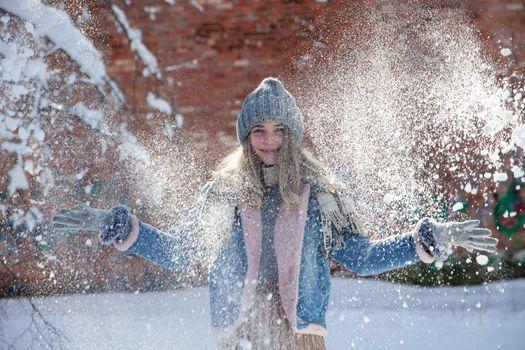 Photo free girls, grin, gloves