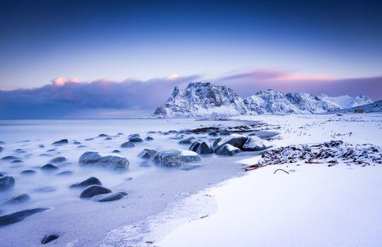 Photo free mountains scenery, snowy mountains, scenery snow