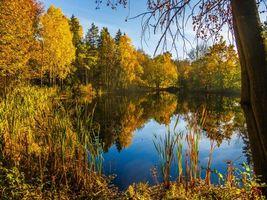 Фото бесплатно Vollen, Norway, озеро