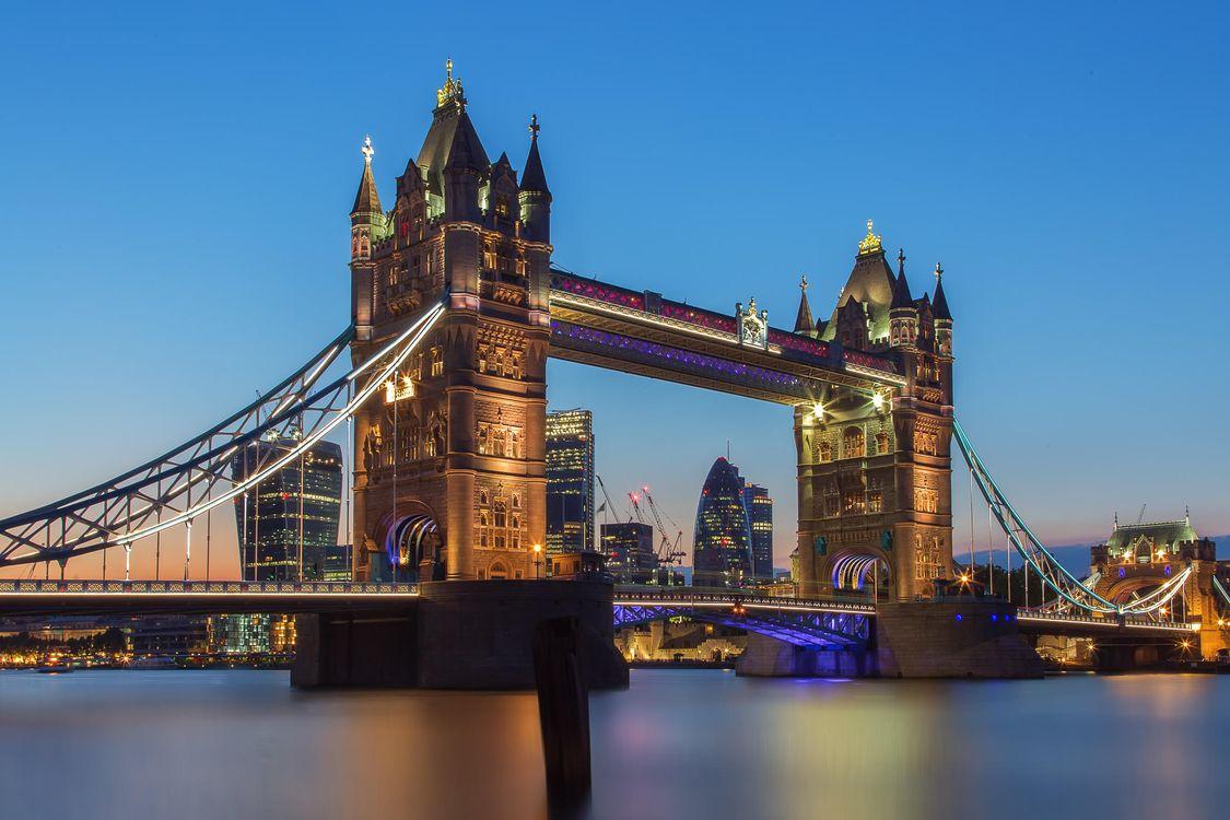 Фото бесплатно Tower Bridge, London, Тауэрский мост, Лондон - на рабочий стол