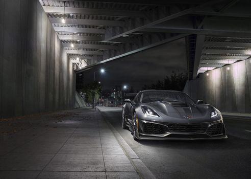 Photo free Chevrolet Corvette ZR1, Chevrolet, Corvette