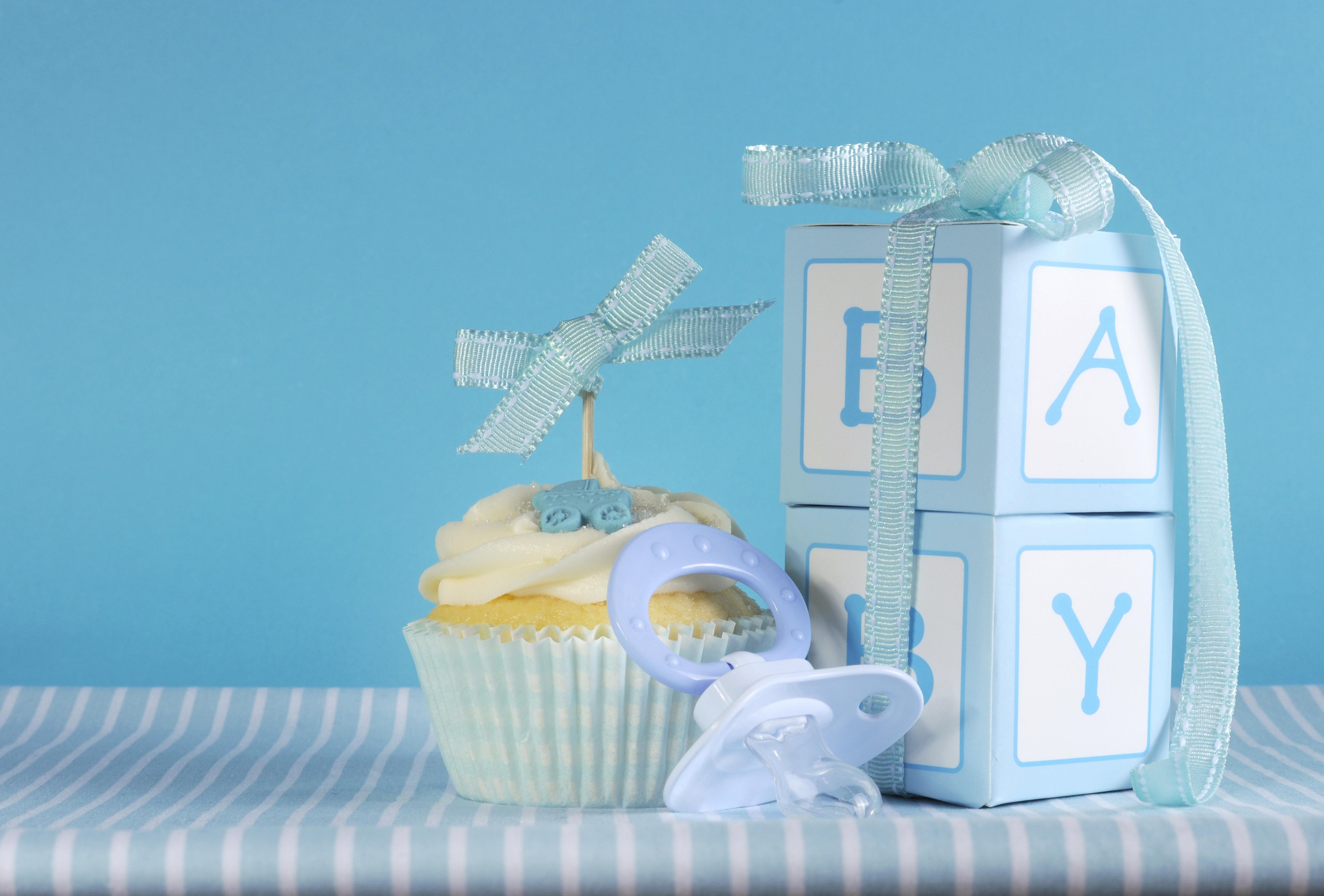 Обои кекс, день рождения, праздник